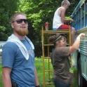 Head Counselor at Dickson Valley Camps. Bus renovation.