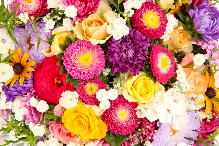 bigstock-Bright-flowers-background-53945725