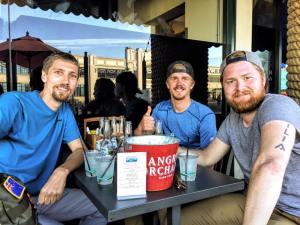 Exploring California. Met up with Jens (kiwi mate)