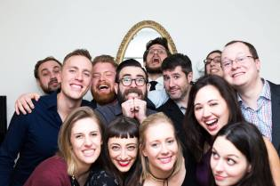 New Years Photo Booth. Love these people